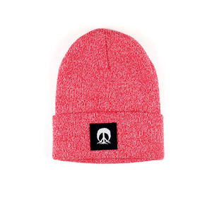 JERSEY BEANIE / RED MARBLE
